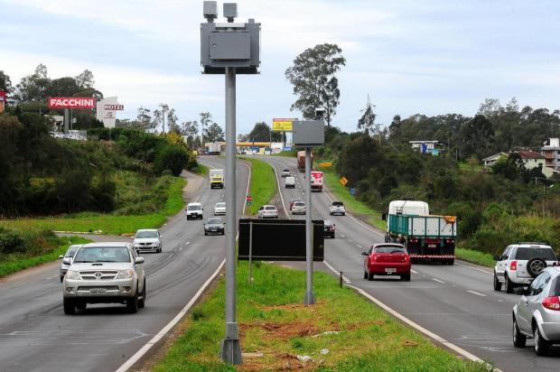 Três pardais são instalados na Rota do Sol, entre Vila Seca e Tainhas Jonas Ramos/Agencia RBS