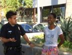 """Atriz de """"Django Livre"""" acusa polícia de Los Angeles de racismo Facebook/Reprodução"""