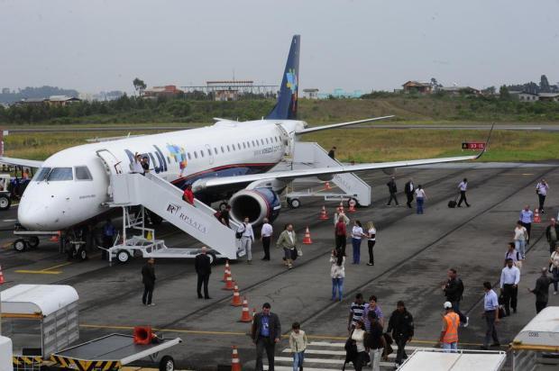 Aeroporto de Caxias tem primeiro voo cancelado por falta de combustível Roni Rigon/Agencia RBS