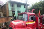 Incêndio no bairro Pioneiro, em Caxias do Sul