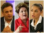 Dilma se mantém a frente e disputa pelo 2º lugar se acirra Montagem sobre fotos de Tadeu Vilani / Agência RBS, Ichiro Guerra / Divulgação e Bruno Alencastro / Agência RBS/