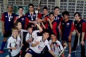 Equipe sub-15 de hóquei indoor de Farroupilha está classificada para o Brasileiro Sesi/Divulgação