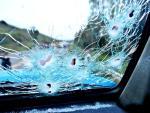 Veja imagens do assalto a um carro-forte em Vacaria