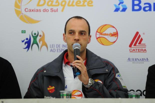 Caxias do Sul/Banrisul enfrenta o time de Gramado no Estadual adulto masculino de Basquete Diogo Sallaberry/Agencia RBS