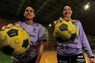 Com equipe renovada, Apahand/UCS estreia nesta quinta-feira na Liga Nacional de Handebol feminino Porthus Junior/Agencia RBS