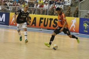 Garantida nas quartas de final, ACBF encara o Jaraguá nesta sexta-feira para confirmar liderança na Liga Futsal Beto Costa/Divulgação
