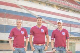 Trio de ex-jogadores grenás inicia o planejamento do Caxias para 2015 de olho na Argentina Rafael Tomé/Divulgação/Caxias