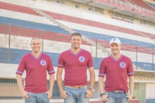 Trio de ex-jogadores grenás inicia o planejamento do Caxias para 2015 de olho na Argentina Lucas Rissinger/Divulgação/Caxias