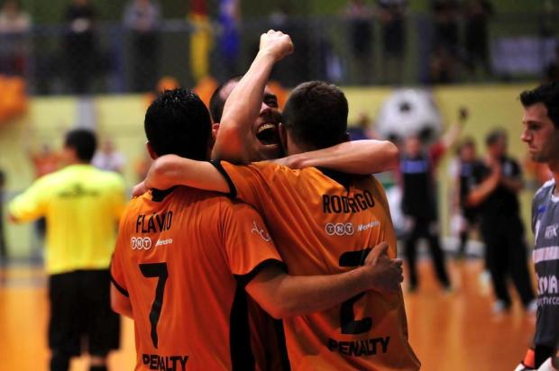 ACBF enfrenta o Corinthians nas quartas de final da Liga Futsal Porthus Junior/Agencia RBS