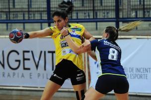 Apahand/UCS busca primeira vitória na Liga Nacional de Handebol feminino Porthus Junior/Agencia RBS