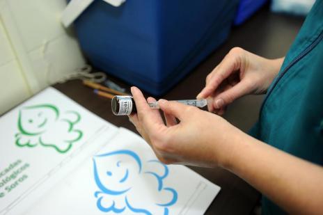 Cerca de 15% da meta de vacinação contra a polio e o sarampo foram atingidos na Serra (Maykon Lammerhirt/Agencia RBS)