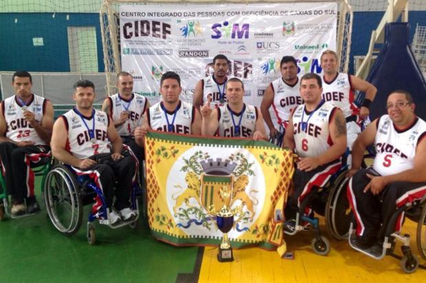 Cidef sobe para a primeira divisão do Brasileiro de Basquete em cadeira de rodas Tiago Frank/Divulgação