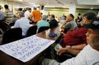 Trabalhadores da Iesa e moradores de Charqueadas se reúnem na Assembleia Legislativa Adriana Franciosi/Agencia RBS
