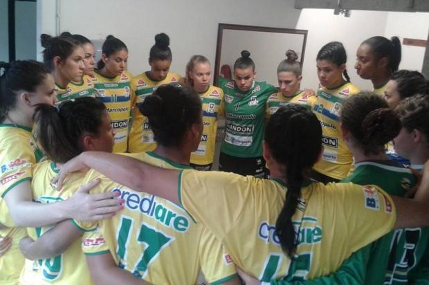 Apahand/UCS/Caxias do Sul vence e se classica à segunda fase da Liga Nacional de Handebol feminino Ivan Sgarabotto/Divulgação