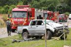 Após bater em três veículos, capotar e derrubar poste, motorista morre em acidente em Caxias Felipe Nyland/Agência RBS/