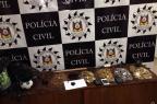 Homem é preso por tráfico de drogas em Farroupilha Delegacia de Polícia de Farroupilha/ Divulgação/