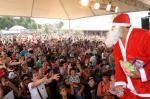 Festa de Natal diverte a criançada na Zona Norte de Caxias do Sul