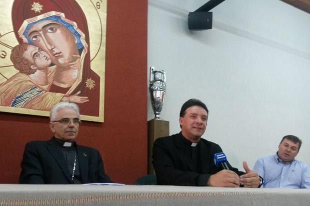 Padre Leomar Brustolin é anunciado como bispo auxiliar da Arquidiocese de Porto Alegre Roni Rigon/ Agência RBS/