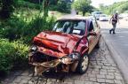 Homem fica ferido em acidente na RSC-470, em Garibaldi Altamir Oliveira/Rádio Estação FM/Divulgação/