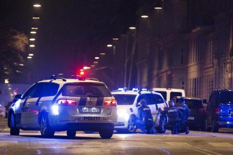 Três pessoas morrem em tiroteios na Dinamarca (MARTIN SYLVEST/SCANPIX DENMARK/ AFP)