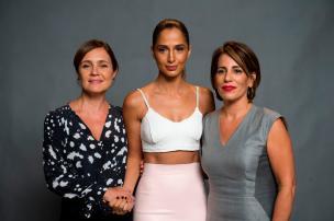 """Adriana Esteves e Gloria Pires roubam a cena no lançamento de """"Babilônia"""" (Estevam Avellar/TV Globo/Divulgação)"""