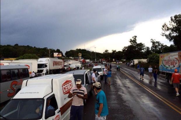Caminhoneiros realizam novos protestos na tarde desta quinta em rodovias da Serra Felipe Nyland/Agência RBS/