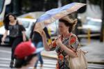 Chuva atinge Caxias do Sul na tarde desta segunda-feira