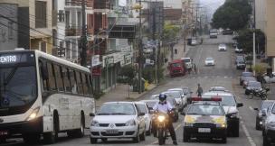 Trecho da Rua Moreira César, no centro de Caxias, ficará bloqueado nesta sexta-feira (Roni Rigon/Agencia RBS)
