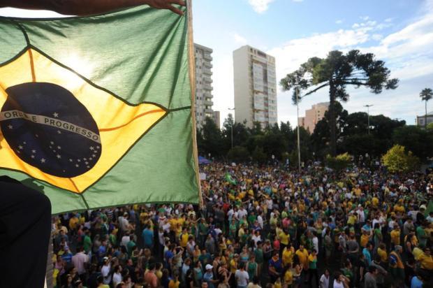 Protesto em Caxias do Sul reúne cerca de 60 mil pessoas Felipe Nyland/Agencia RBS