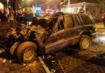 Médico morre ao bater carro no muro do Alfredo Jaconi, em Caxias