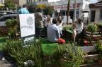 Associação de Bento promove troca de vagas de estacionamento por espaço público Cristiane Moro/Divulgação