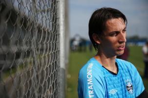 Geromel é trunfo do Grêmio para garantir vaga na final do Gauchão Diego Vara/Agencia RBS