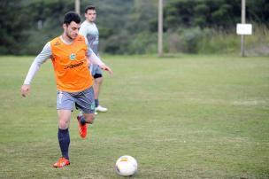 Com todos atletas do grupo e sem novidades, Juventude intensifica preparação para Série C  Felipe Nyland/Agencia RBS