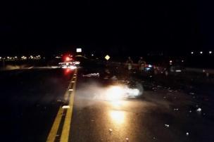 Motorista embriagado responsável por acidente com duas mortes é solto (Polícia Rodoviária Federal/Divulgação)