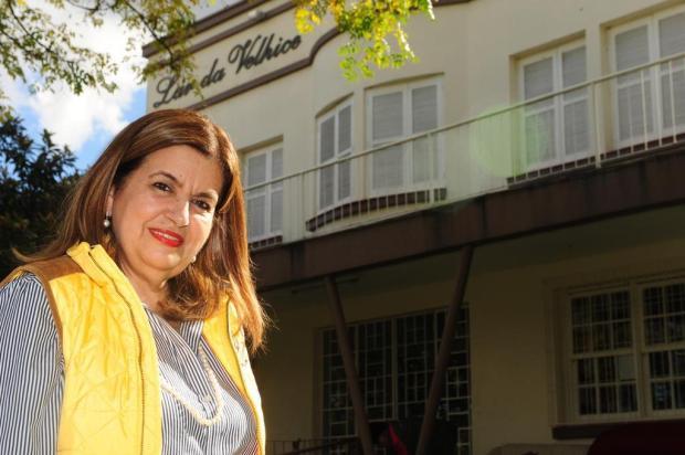 Léa Signori, 26 anos de dedicação ao Lar da Velhice, em Caxias Roni Rigon/Agencia RBS