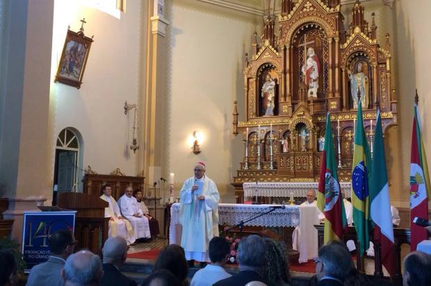 Missa em Nova Milano celebra os 140 anos da chegada dos italianos ao RS Cristiane Barcelos / Agência RBS/
