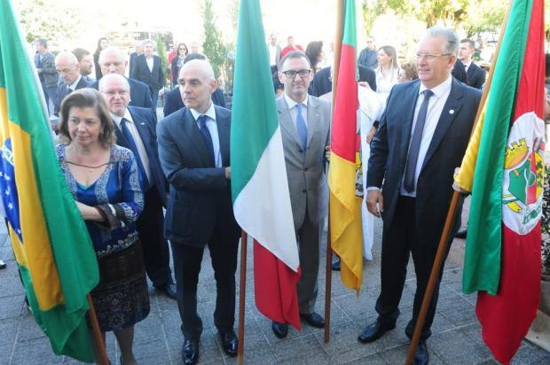 Primeiras famílias de imigrantes italianos no RS são homenageadas em Nova Milano Roni Rigon/Agencia RBS