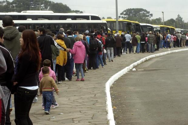 Definidos os preços das passagens para a romaria de Caravaggio, na Serra Daniela Xu/Agencia RBS