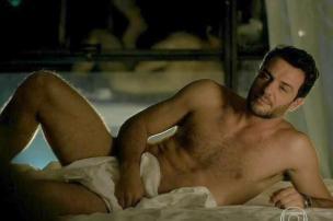 Rodrigo Lombardi voltará a aparecer nu em cenas de Verdades Secretas TV Globo/Reprodução