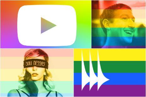 Menos de 2% dos usuários do Facebook utilizaram arco-íris em foto de perfil (Montagem/Reprodução Facebook)
