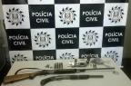 Quatro são presos por porte ilegal de arma em Vila Seca, interior de Caxias Polícia Civil/ Divulgação/