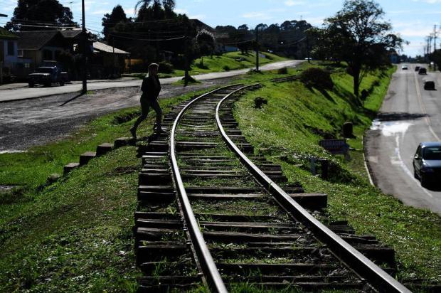 Trem voltou a Caxias do Sul no aniversário de 75 anos Jonas Ramos/Agencia RBS