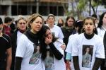 Protesto pela morte do estudante Mateus Marchiori, em Bento Gonçalves