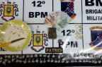 BM flagra homem com crack e maconha em Caxias Brigada Militar / divulgação/