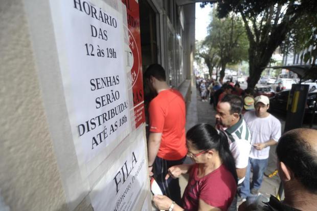 Recadastramento biométrico em Caxias do Sul gera filas no Cartório Eleitoral Felipe Nyland/Agencia RBS