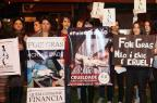 """Festival de """"foie gras"""" provoca debate e protesto em Florianópolis Charles Guerra/Agencia RBS"""