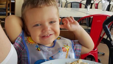VÍDEO: bebê canta o hino do Rio Grande do Sul (Cristiano Gomes/Arquivo Pessoal)