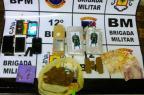 BM apreende maconha com selo do Batman em Caxias do Sul BM/ Divulgação/