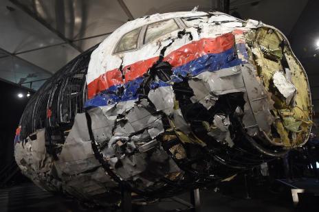 Investigação conclui que aeronave da Malaysia Airlines foi derrubada por míssil (Emmanuel Dunand/AFP)