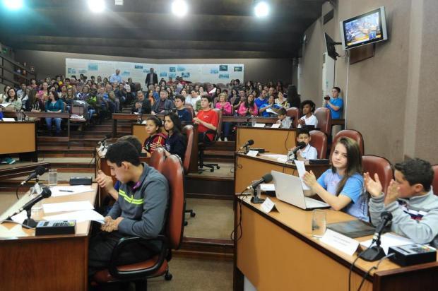 Veja projetos de alunos de Caxias apresentados no Vereador por um Dia Roni Rigon/Agencia RBS
